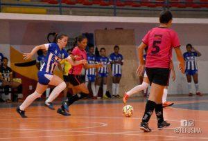 Uma partida isolada abriu a disputa do Campeonato Maranhense de Futsal  Adulto Feminino d70142ad684ee